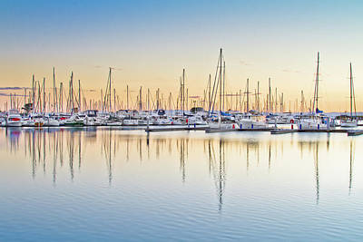 Photograph - Moreton Bay Marina by Brisbane Architectual And Landscape Photographer
