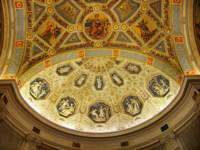 Photograph - Morgan Library Rotunda by Jessica Jenney