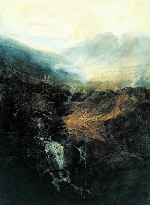 Painting - Morning Amongst The Coniston Fells by Joseph Mallord William Turner