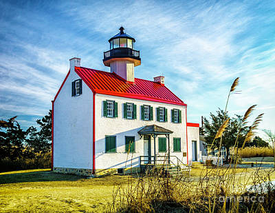 Photograph - Morning At East Point Light by Nick Zelinsky