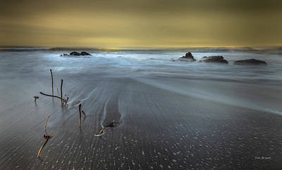 Photograph - Morning At Moonstone by Tim Bryan