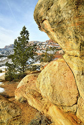 Photograph - Morning At The East Entrance Of Colorado National Monument by Ray Mathis