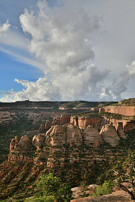Photograph - Morning Clouds Rising Over The Coke Ovens Of Colorado Nm by Ray Mathis