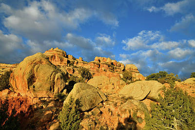 Photograph - Morning Clouds Rolling Over Rim Rock Drive In Colorado National Monument by Ray Mathis