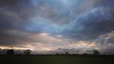 Photograph - Morning Clouds by Samuel Pye