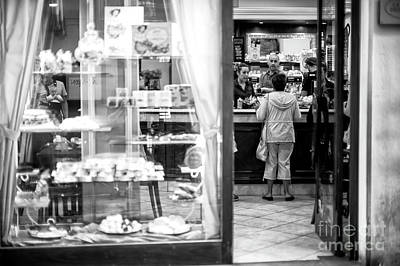 Photograph - Morning Coffee In Florence by John Rizzuto