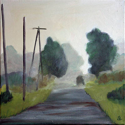 Painting - Morning Commute by Sarah Lynch