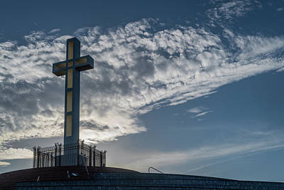 Photograph - Morning Cross 2 by TM Schultze