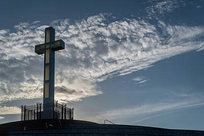 Photograph - Morning Cross by TM Schultze