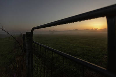 Photograph - Morning Gate 2 by Davin McLaird