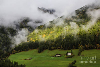 Photograph - Morning In Zillertal by Eva Lechner