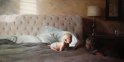 Painting - Morning Light by Anna Rose Bain