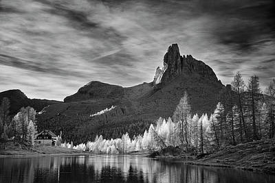 Photograph - Morning Light In The Dolomites by Jon Glaser