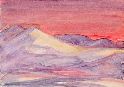 Painting - Morning Light In The Mountains by Dobrotsvet Art