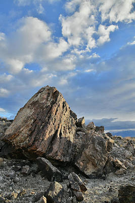 Photograph - Morning Light On Boulders And Clouds At Ruby Mountain by Ray Mathis