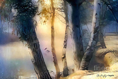 Painting - Morning On The Murray by Chris Armytage