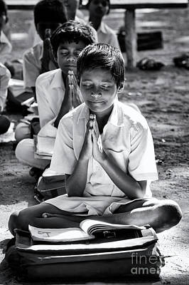 Photograph - Morning Prayers At School by Tim Gainey
