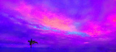 Royalty-Free and Rights-Managed Images - Morning Purple Skies by Russ Harris