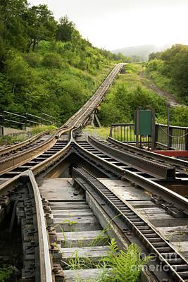 Photograph - Morning Rails by Doug Koski