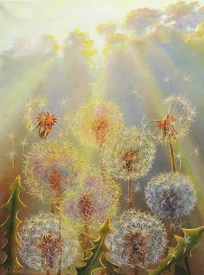 Wall Art - Painting - Morning Rays by Oleg Riabchuk