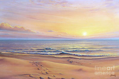 Painting - Morning Sea Breeze by Joe Mandrick