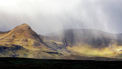 Photograph - Morning Showers Over The Quiraing by Nicholas Blackwell