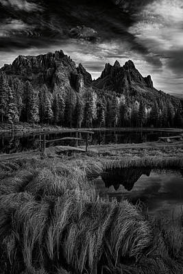 Photograph - Morning Sky In The Dolomites by Jon Glaser