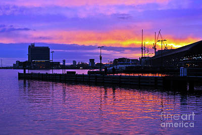 Photograph - Morning Sound Of Amsterdam by Silva Wischeropp