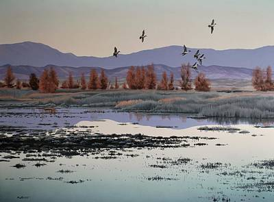 Painting - Morning Sprig by Peter Mathios