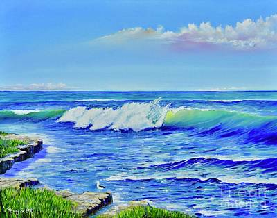 Painting - Morning Tide by Mary Scott