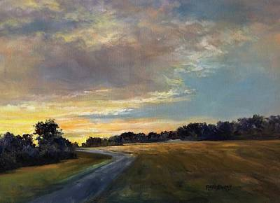 Painting - Morning Walk by Randy Burns