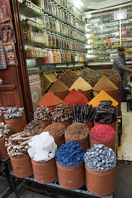 Photograph - Moroccan Drugstore by Jessica Levant