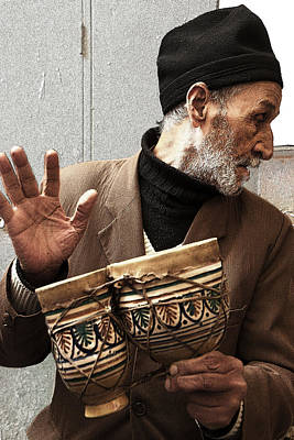 Photograph - Moroccan Drummer by Jessica Levant