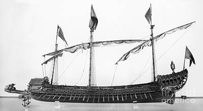 Photograph - Morosini Galley by Granger