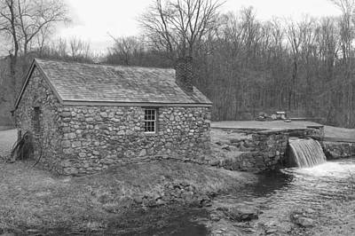 Photograph - Morris Canal Lock House - Waterloo Village by Christopher Lotito