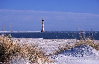 Photograph - Morris Island Lighthouse At Folley Beach by Photorx