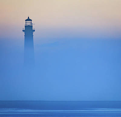 Photograph - Morris Island Lighthouse Peeking Through by Donnie Whitaker