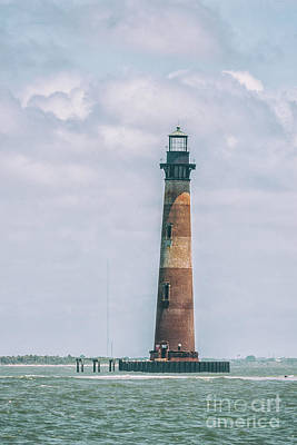 Photograph - Morris Island Lighthouse - Save The Lighthouse In Charleston by Dale Powell