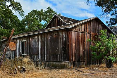 Photograph - Morrison Ranch House Santa Monica Mountains by Kyle Hanson