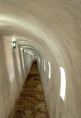 Photograph - Morro Castle Hallway by Tom Singleton