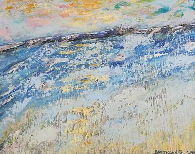 Blue Painting - Morze 2 by Renata Barczyszyn