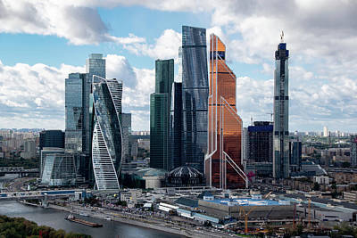 Wall Art - Photograph - Moscow City by Steven Richman