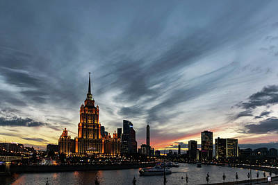 Wall Art - Photograph - Moscow Nocturne by Steven Richman