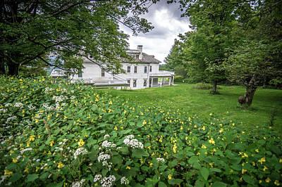 Photograph - Moses Cone Manor On Blue Ridge Parkway North Carolina by Alex Grichenko