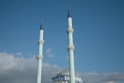 Islam Wall Art - Photograph - Mosque Minarets by Julian Ward