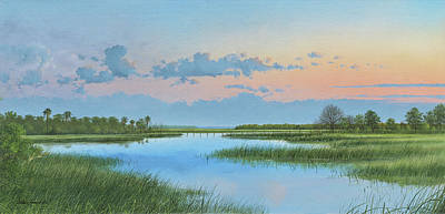 Painting - Mosquito Lagoon by Mike Brown