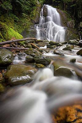Photograph - Moss Glen Falls And Deer Hollow Brook by Rick Berk