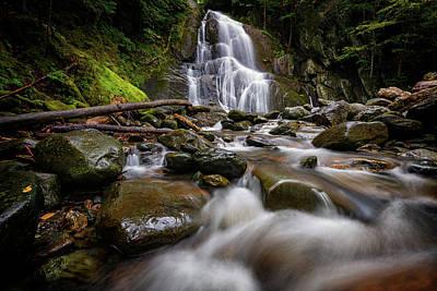 Photograph - Moss Glen Falls Granville by Rick Berk