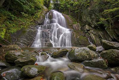 Photograph - Moss Glen Falls On A Rainy Afternoon by Rick Berk