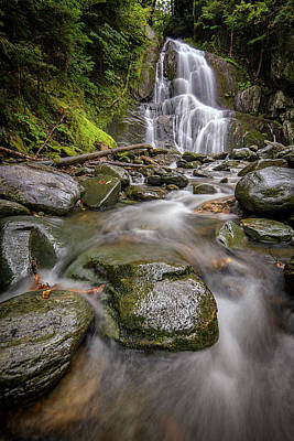 Photograph - Moss Glen Waterfall by Rick Berk
